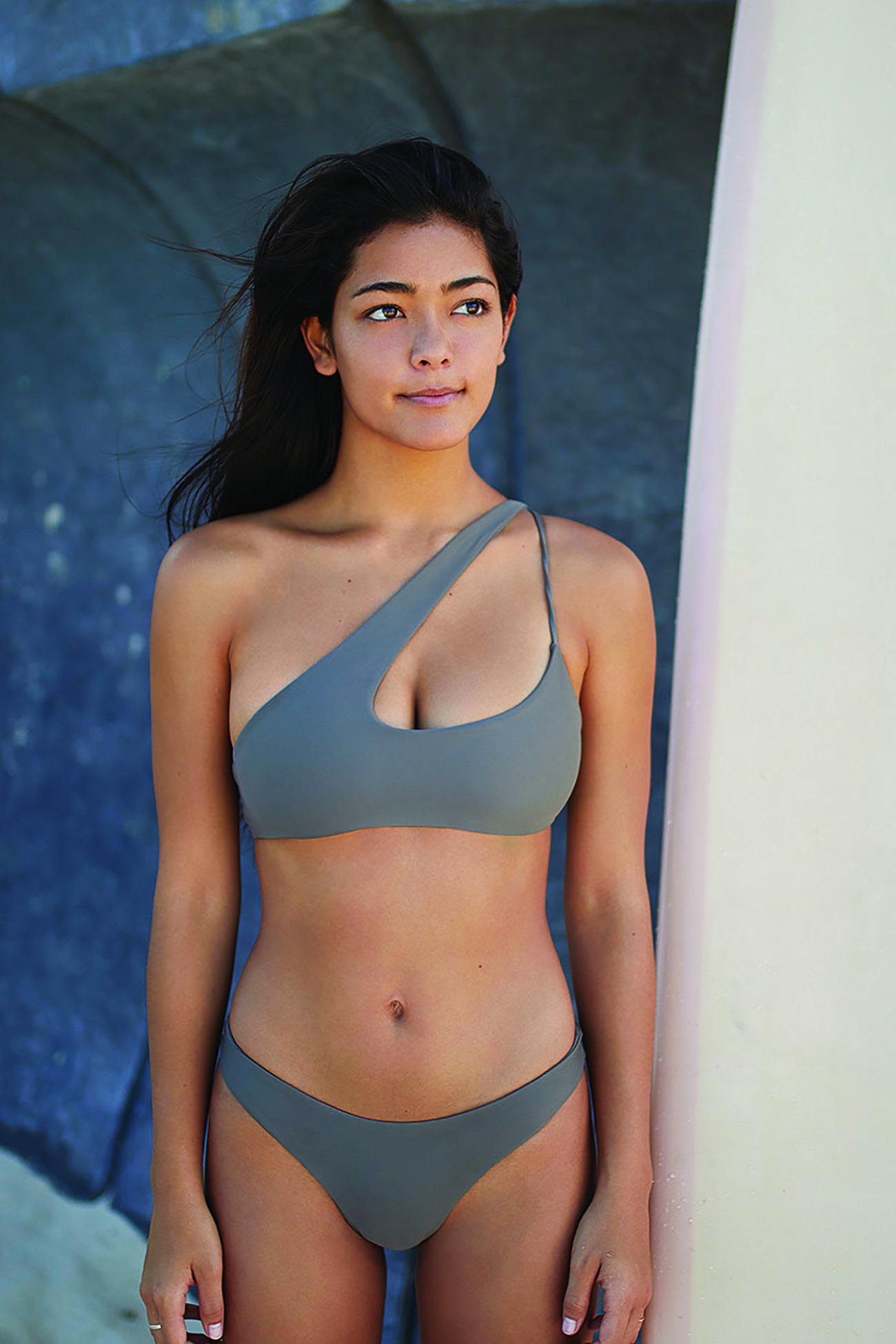 Queensland Top and Lahaina Bottom in Taupe